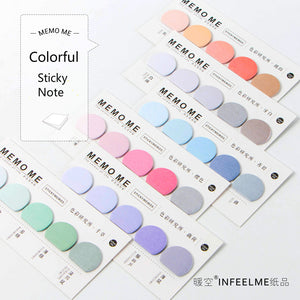 6 Piece Colorful Memo Sticky Note