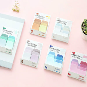 6pcs Creative Gradient Sticky Note