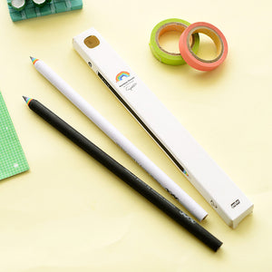 2pcs 2B Rainbow Pencil
