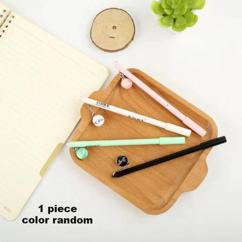 1 Piece 0.5mm Week Pendant Gel Pen KINIYO Stationery