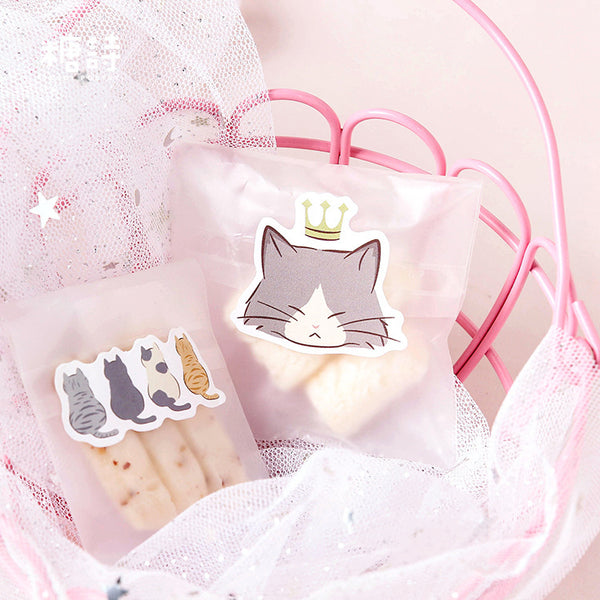 45pcs Pussy Daily Life Sticker Scrapbooking kiniyo stationary 3861p