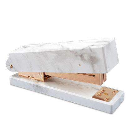 1 Piece Simple Marble Stapler KINIYO Stationery
