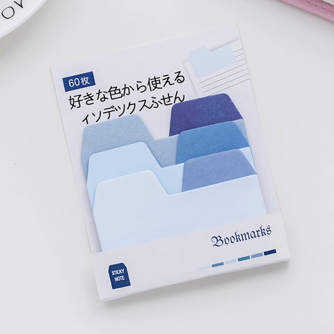 1 Piece Classify Index Sticky Note KINIYO Stationery