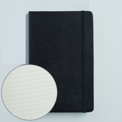 1 Piece A5 Leather Journal Notebook with Matching Placeholder Ribbon