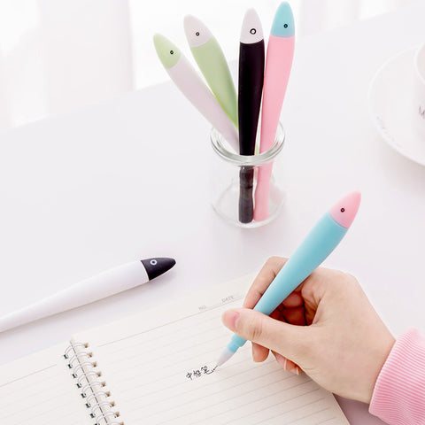 1 Piece  Fish 0.38mm Gel Pen KINIYO Stationery