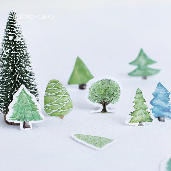 46pcs Decoration Tree Stickers