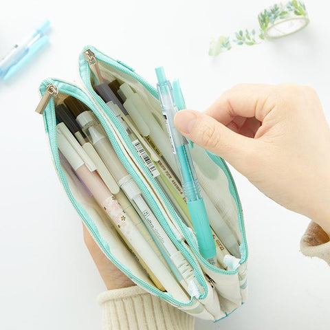 Large Capacity Flat Pen Pencil Case
