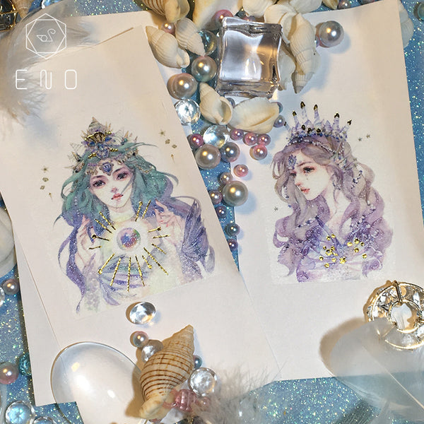 70mm*5m Fairy Mermaid Tear Tape Scrapbooking kiniyo stationary 4288p