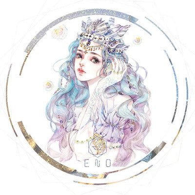 70mm*5m Fairy Mermaid Tear Tape Scrapbooking kiniyo stationary 4349p