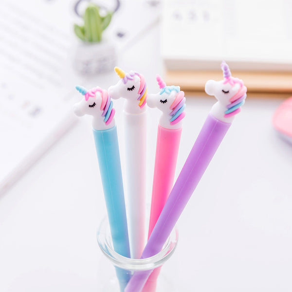 1 Piece Unicorn 0.5mm Gel Pen KINIYO Stationery