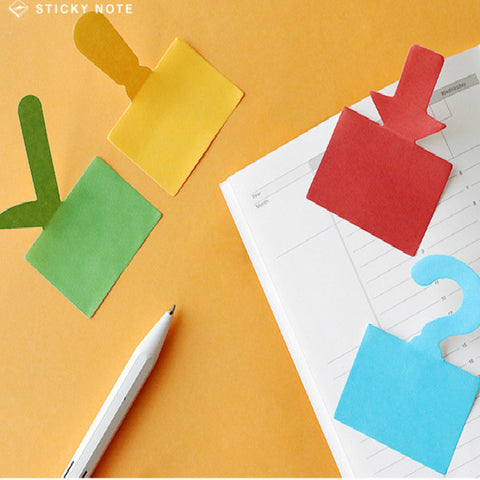 4pcs Punctuation Series Sticky Note