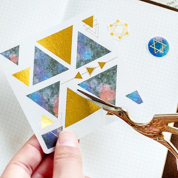 60pcs Star  DIY Decoration Stickers