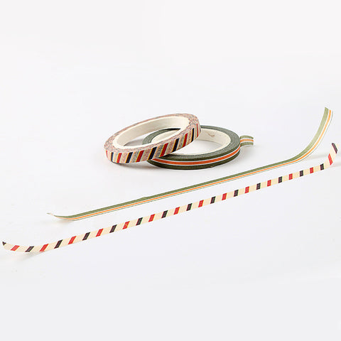 2pcs 5mm Fine Decoration Washi Tape KINIYO Stationery