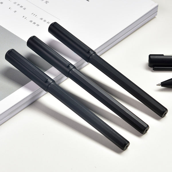 12pcs 0.5mm Black Ink Color Fast Dry Gel Pen