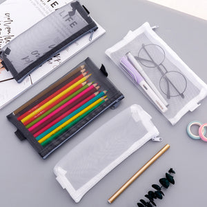 1 Piece Grenadine Transparent Pencil Case KINIYO Stationery