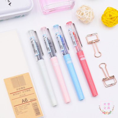 1 Piece 0.5mm Straight Liquid Gel Pens KINIYO Stationery