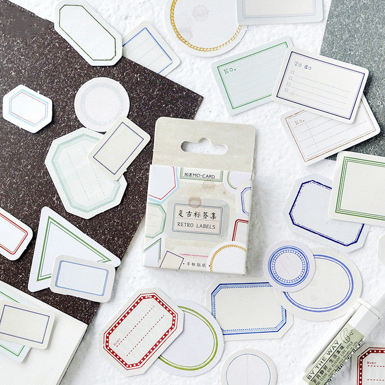 45pcs Leave Message Stickers KINIYO Stationery