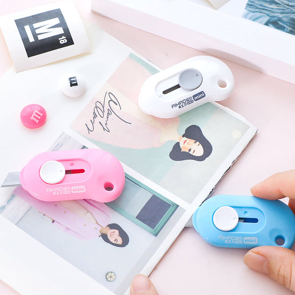 1 Piece Mini Portable Art Knife KINIYO Stationery