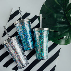 550ml Stainless Steel Bling Star To-go Cup
