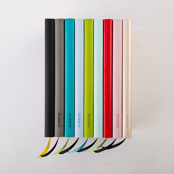 1 Piece Colorful Daily Schedule Notebook KINIYO Stationery