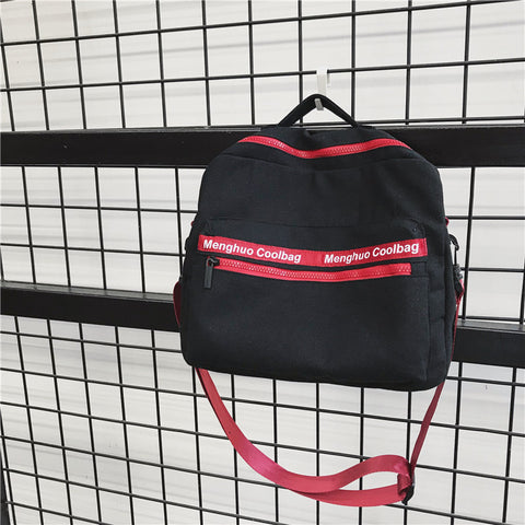 Canvas Hip-hop Shoulder Bag/Hand Bag