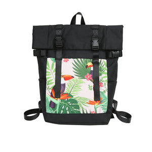 Fashion Flamingo Large Capacity Backpack