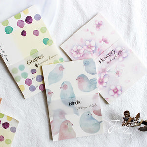 3pcs Forest Series Writing Pads KINIYO Stationery