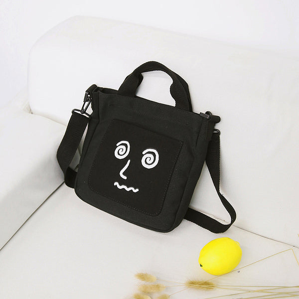 Expression Canvas Shoulder Bag/Hand Bag KINIYO Stationery