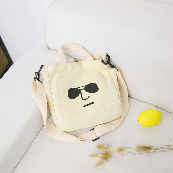 Expression Canvas Shoulder Bag/Hand Bag