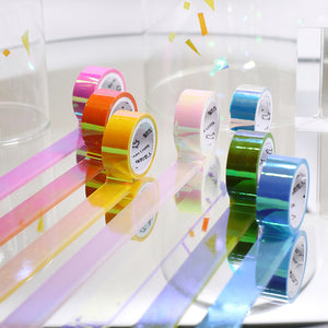 7pcs Dazzling Color Tape