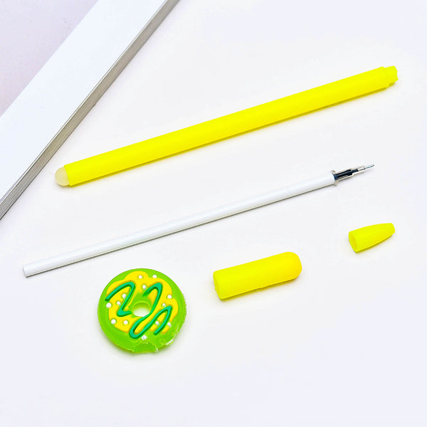 1 Piece 0.5mm Donuts Blue Ink Gel Pen KINIYO Stationery