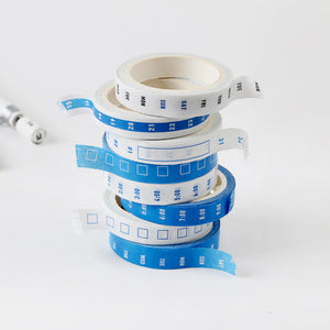 4pcs Time Management Tapes
