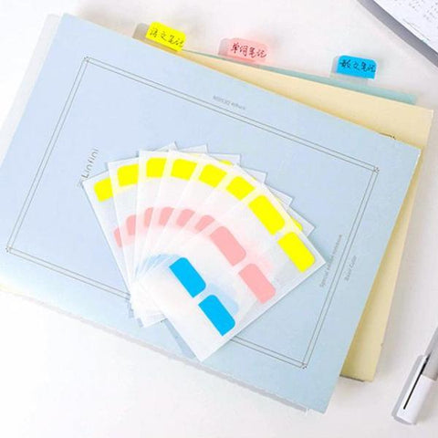 8 Sheets in 1 Pack Index Category Sticky Note