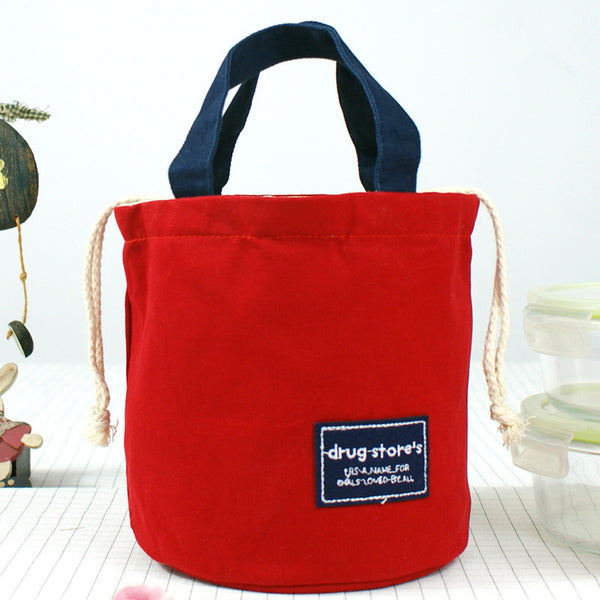 Lovely Canvas Lunch Handbag