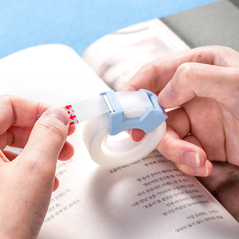 2pcs Invisibility Writable  Tape with Cutter KINIYO Stationery
