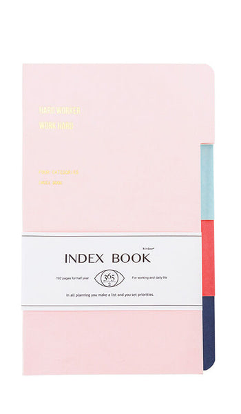 A5 Record Life Index Notebook