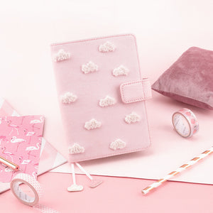 A6 Dream Cloud Multifunctional Pink Planner Paper kiniyo stationary 4132p