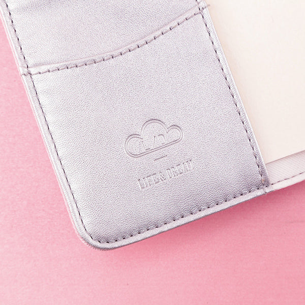 A6 Dream Cloud Multifunctional Pink Planner Paper kiniyo stationary 4135p