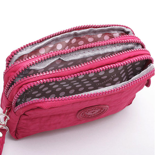 High Capacity Multifunction Canvas Hand Bag/Coin Purse Canvas Bag kiniyo stationary 3756p