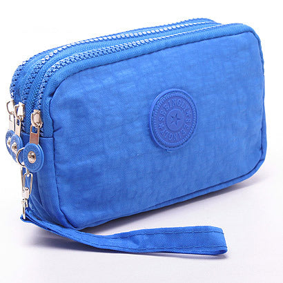 High Capacity Multifunction Canvas Hand Bag/Coin Purse Canvas Bag kiniyo stationary 3762p