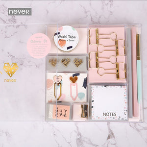 Light Pink 9 Products Stationery Set+stationary 1