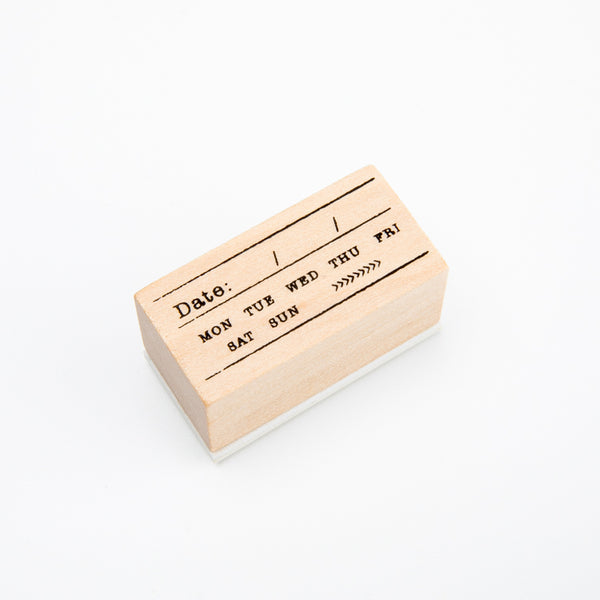 Original Wood Stamps(18 Patterns) KINIYO Stationery
