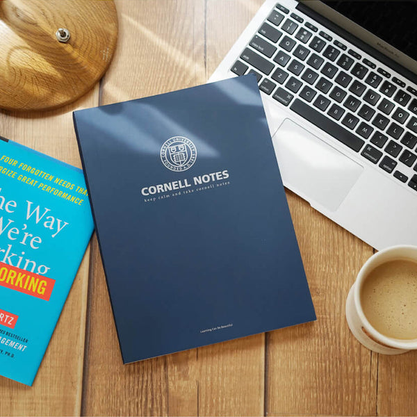 1 Piece A4 Cornell Notebook 80 Sheet KINIYO Stationery