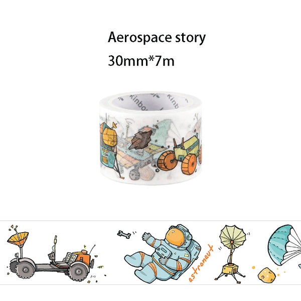 Space Walk Series Washi Deco Tape