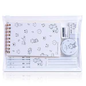 1 Piece Spiral Notebook Stationery Set