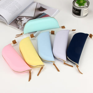 1 Piece Large Capacity Silicone Pen Pencil Case with Zipper KINIYO Stationery