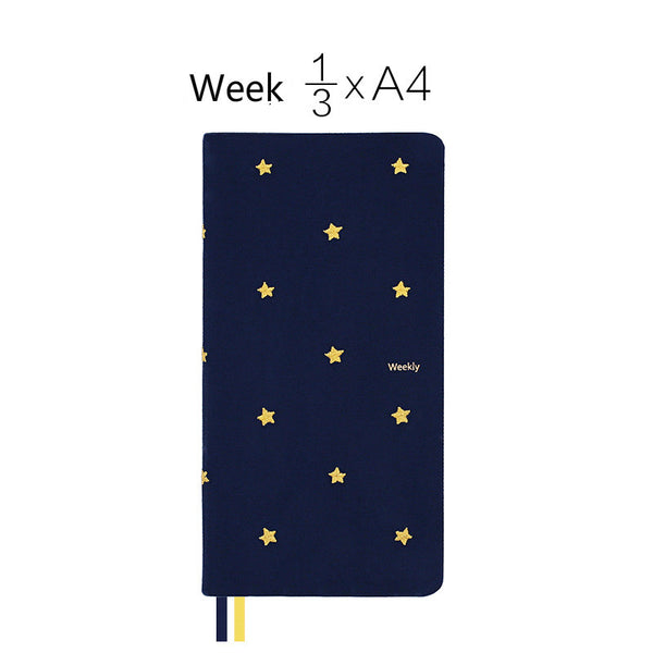 A5/A6/Weekly Good Night Fabric Cover Planner Paper kiniyo stationary 4127p