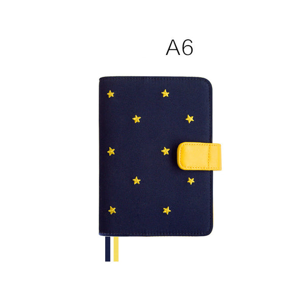 A5/A6/Weekly Good Night Fabric Cover Planner Paper kiniyo stationary 4128p
