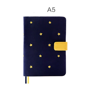 A5/A6/Weekly Good Night Fabric Cover Planner Paper kiniyo stationary 4130p