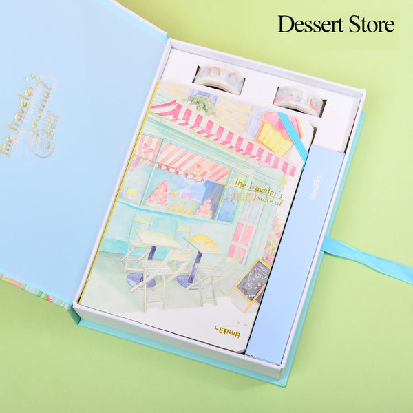 1 Set Exquisite Planner with A Gift Box-A5 KINIYO Stationery